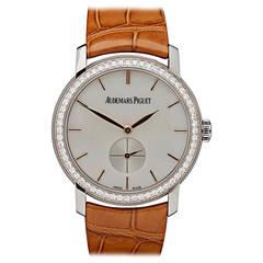 Audemars Piguet Jules Audemars White Gold Diamond Wristwatch