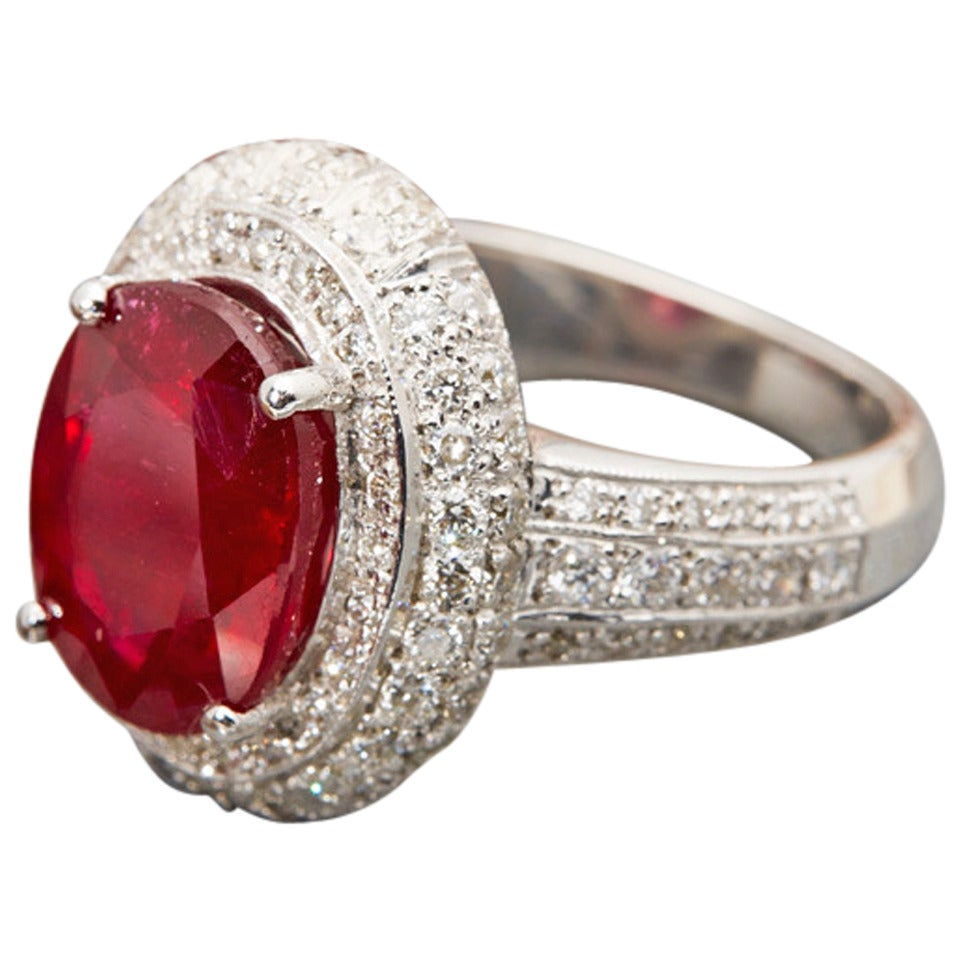 Ruby Cocktail Ring 110