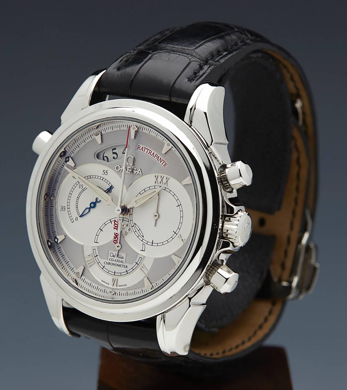 Omega Platinum De Ville Rattrapante Chronograph Automatic
