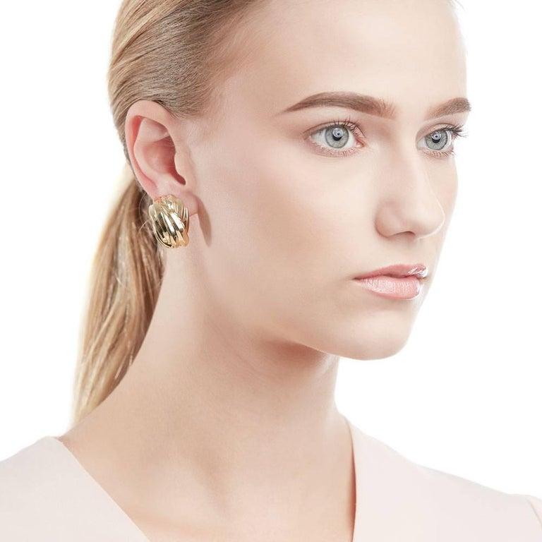 Tiffany & Co. Gold Earrings 9