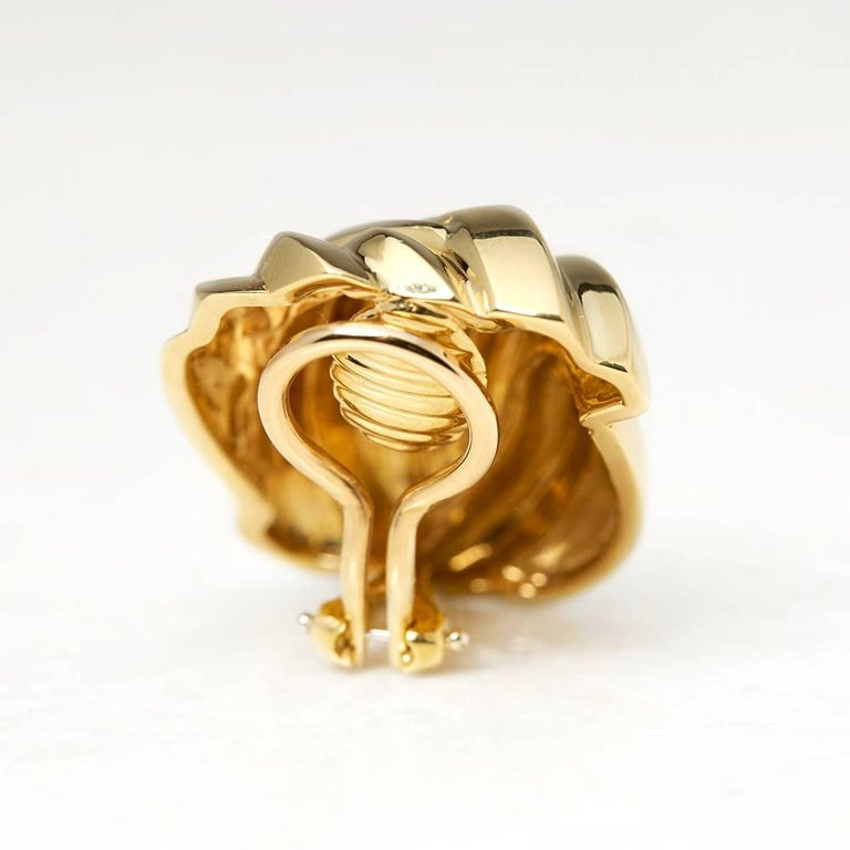 Tiffany & Co. Gold Earrings 5