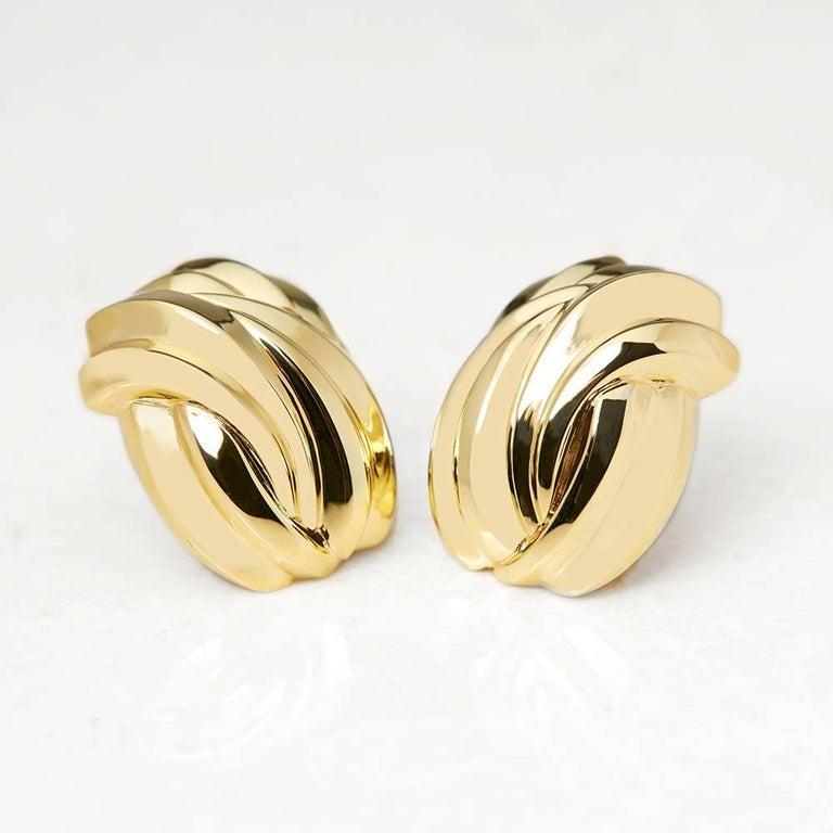 Tiffany & Co. Gold Earrings 2