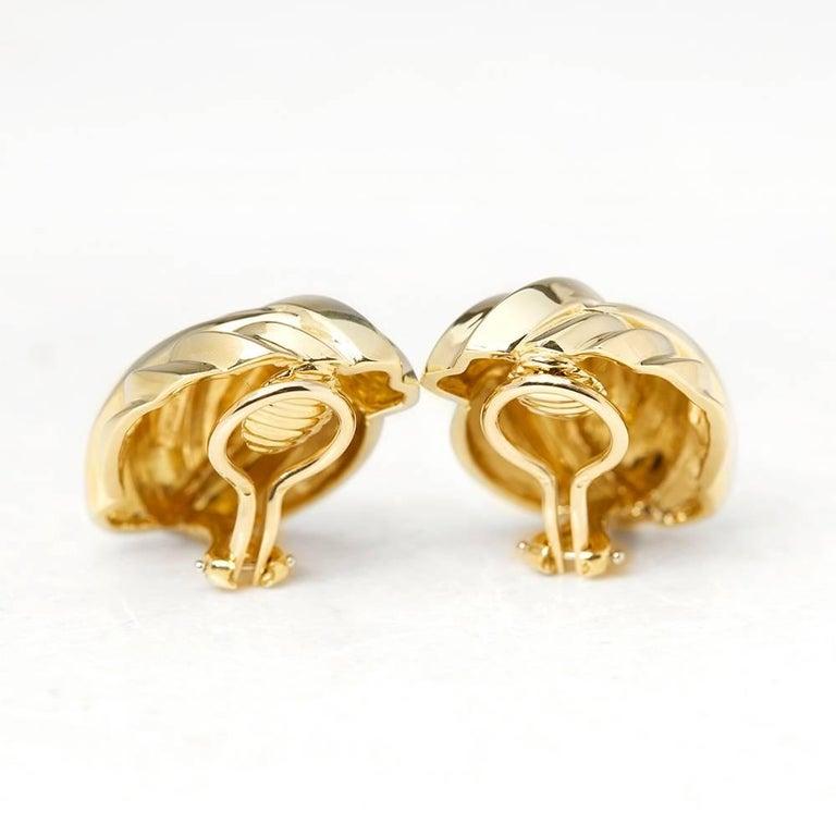 Tiffany & Co. Gold Earrings 4