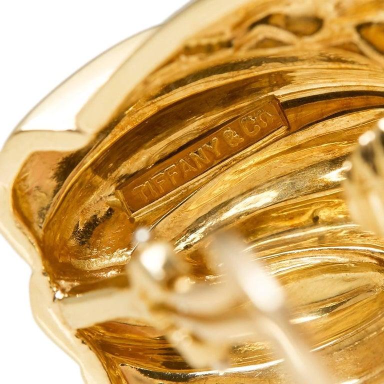 Tiffany & Co. Gold Earrings 7