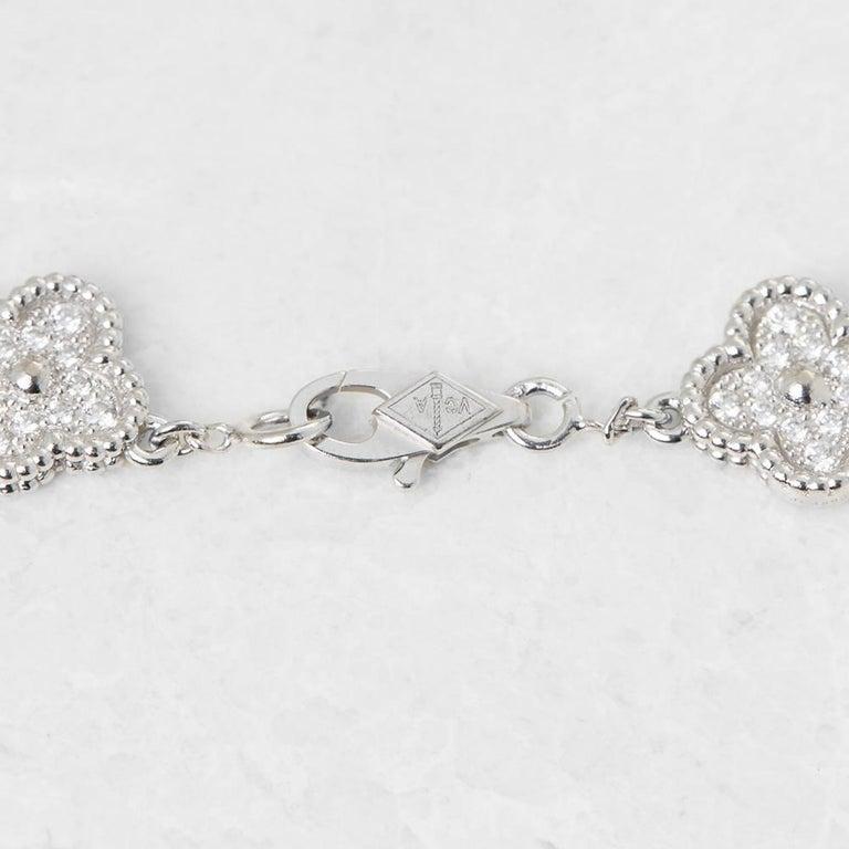 Van Cleef & Arpels Diamond Sweet Alhambra Bracelet 3