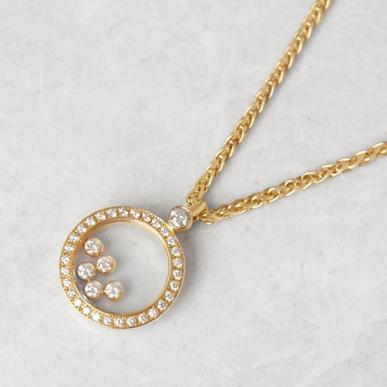 Serial Earrings: Chopard Happy Diamonds Necklace For Sale At 1stdibs