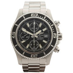 Breitling Superocean II Chronograph Stainless Steel Gents A1334102, 2014