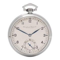 IWC Pocket Watch Art Deco C.67