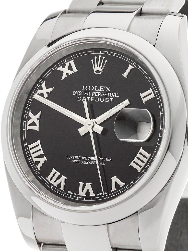 Rolex Stainless Steel Datejust Automatic Wristwatch Ref 116200, 2006 In Excellent Condition In Bishop's Stortford, Hertfordshire