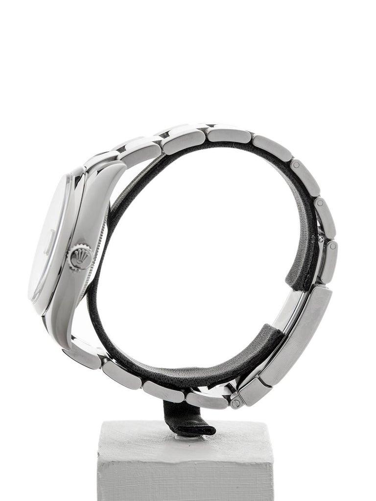 Rolex Stainless Steel Datejust Automatic Wristwatch Ref 116200, 2006 1