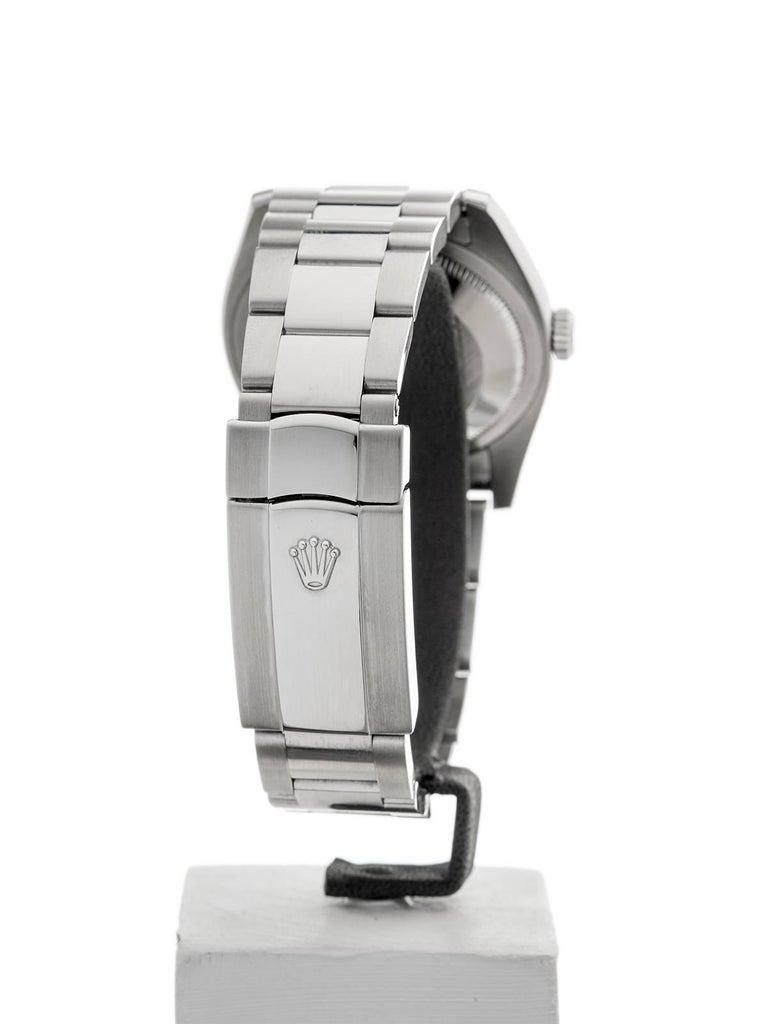 Rolex Stainless Steel Datejust Automatic Wristwatch Ref 116200, 2006 3