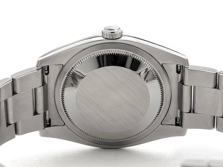 Rolex Stainless Steel Datejust Automatic Wristwatch Ref 116200, 2006 4