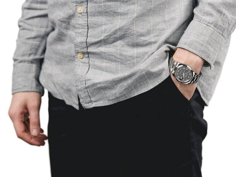 Rolex Stainless Steel Datejust Automatic Wristwatch Ref 116200, 2006 5