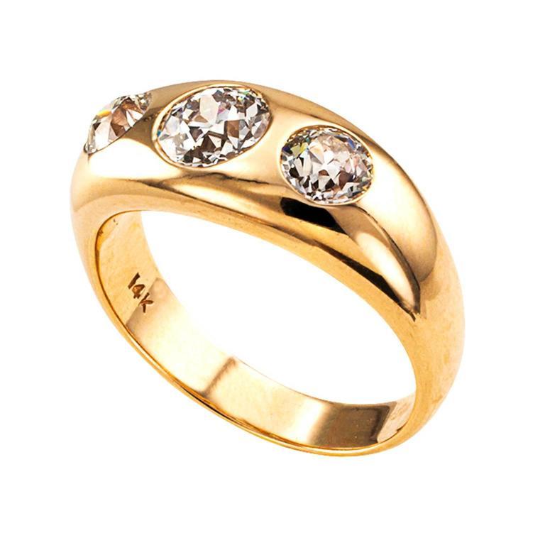 Stone Gypsy Ring