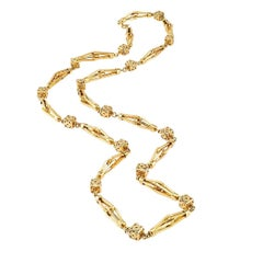 1960s Gold Long Italian Chain
