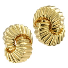 Tiffany & Co. Cordis Gold Earrings