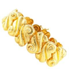 Zolotas 22 Karat Gold Bracelet