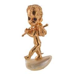 Ruser Thursday's Child Gold Brooch