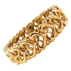 Bulgari Gold Cuff Bracelet
