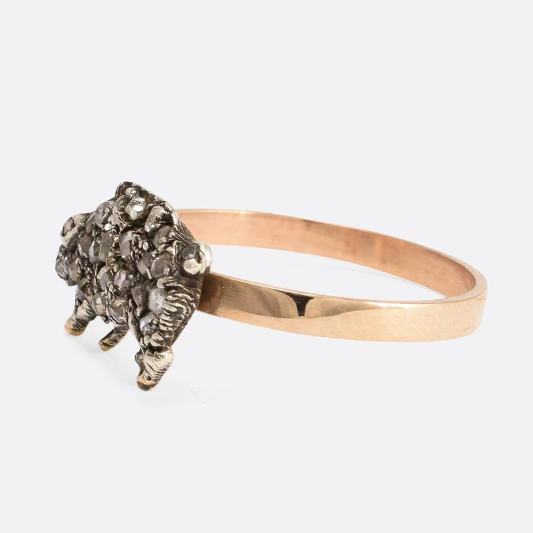 lucky pig conversion ring at 1stdibs