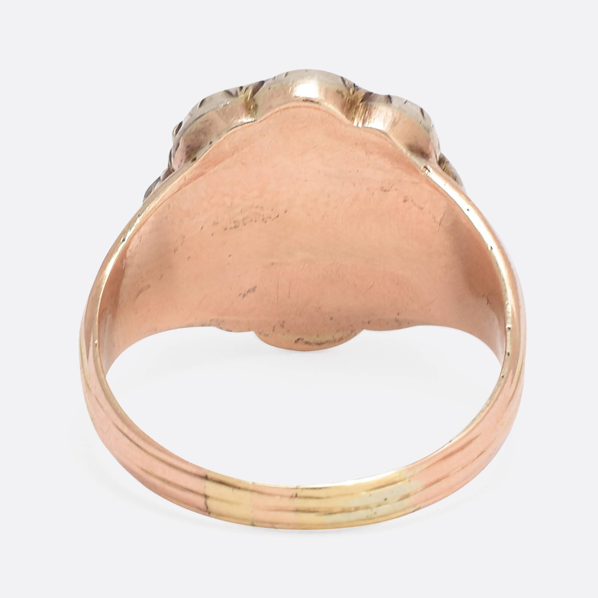 rose gold tacori rings cut engagement designed