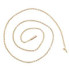 Victorian 15 Karat Gold Chain Necklace