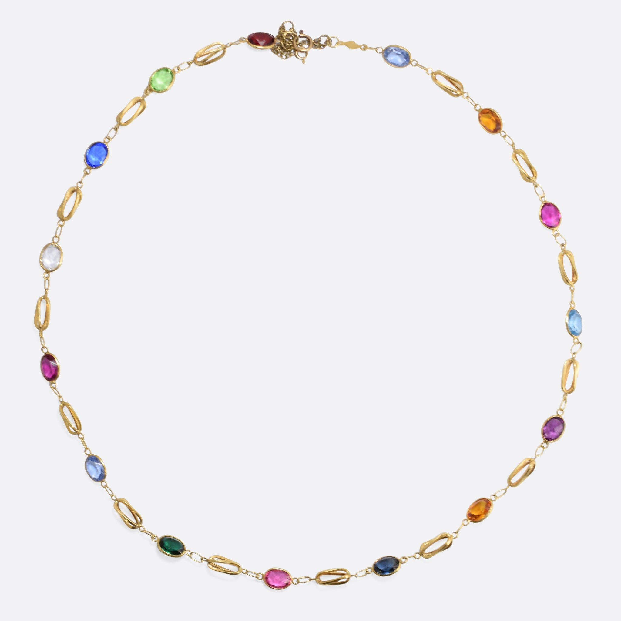 effy yellow multi gold tcw gemstone jewelry necklace