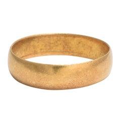 Antique Victorian 22 Karat Gold Wedding Ring