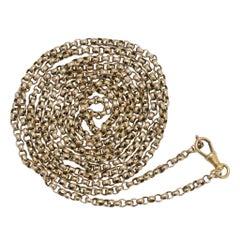 Antique Victorian 9 Karat Gold Guard Chain