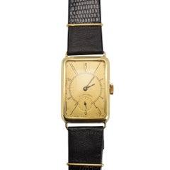 Van Cleef & Arpels Yellow Gold Wristwatch, 1930s