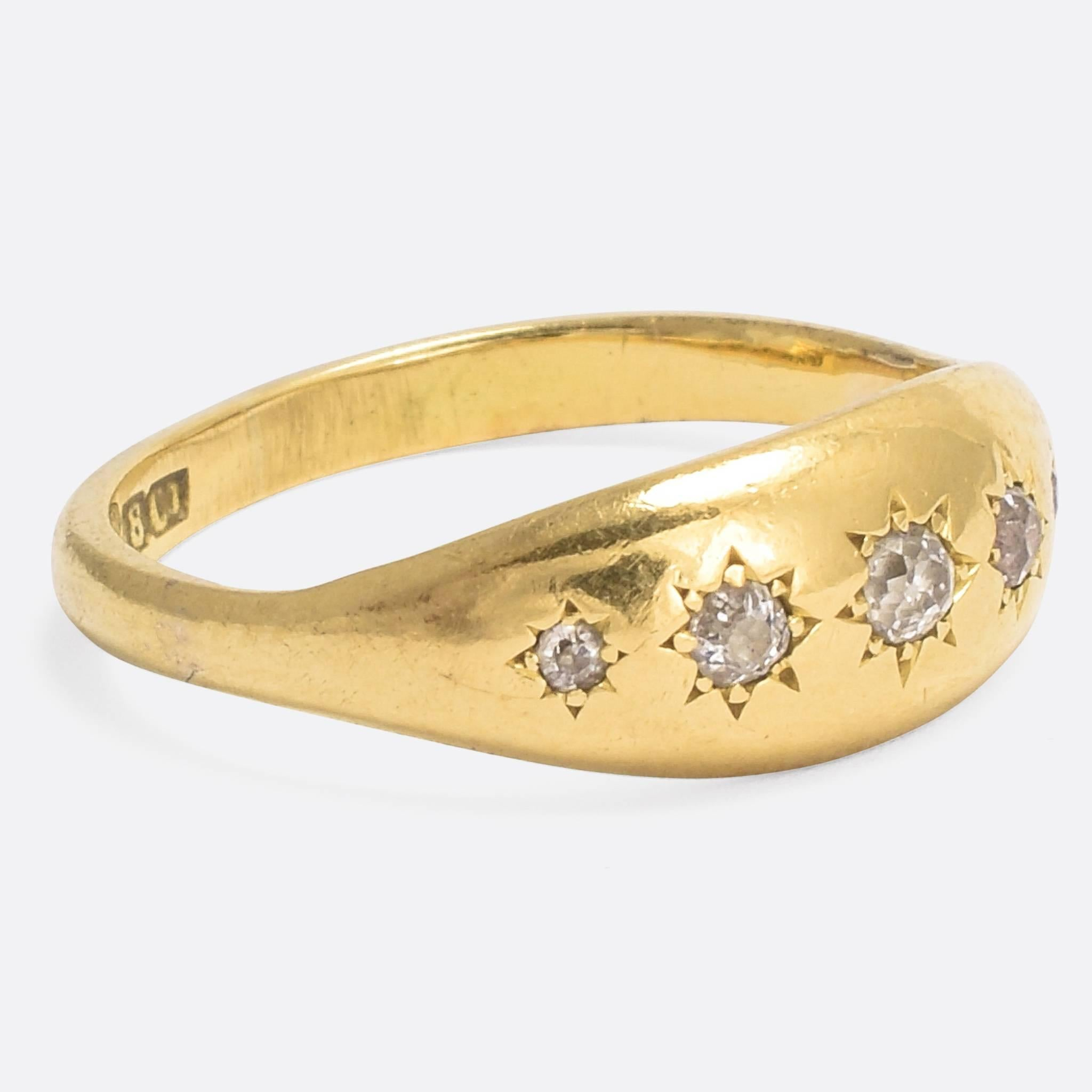 jb radiant diamond cut eternity star products band diamonds