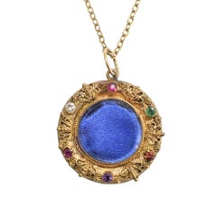 "Georgian Regency Period Acrostic ""Regard"" Locket"