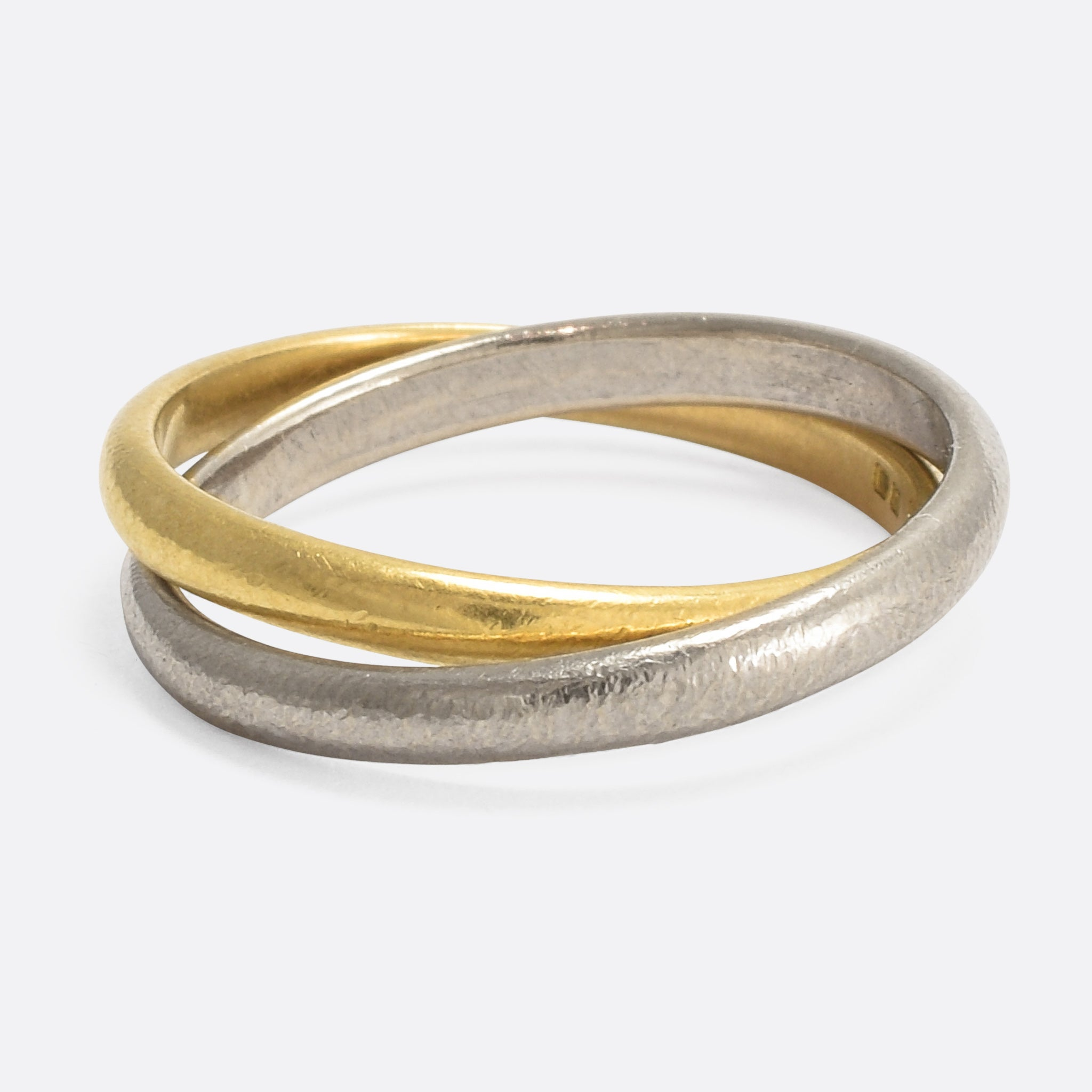 also hb two rings news tone wedding the tears combined check center unique ring but sg engagement gold in natural with very yellow of diamonds bands and white this simple band venus are out