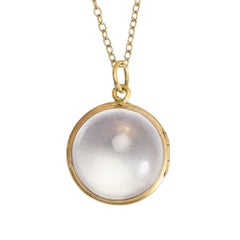 Victorian Pool-of-Light Orb Locket