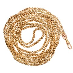 Victorian 15 Karat Gold Guard Chain