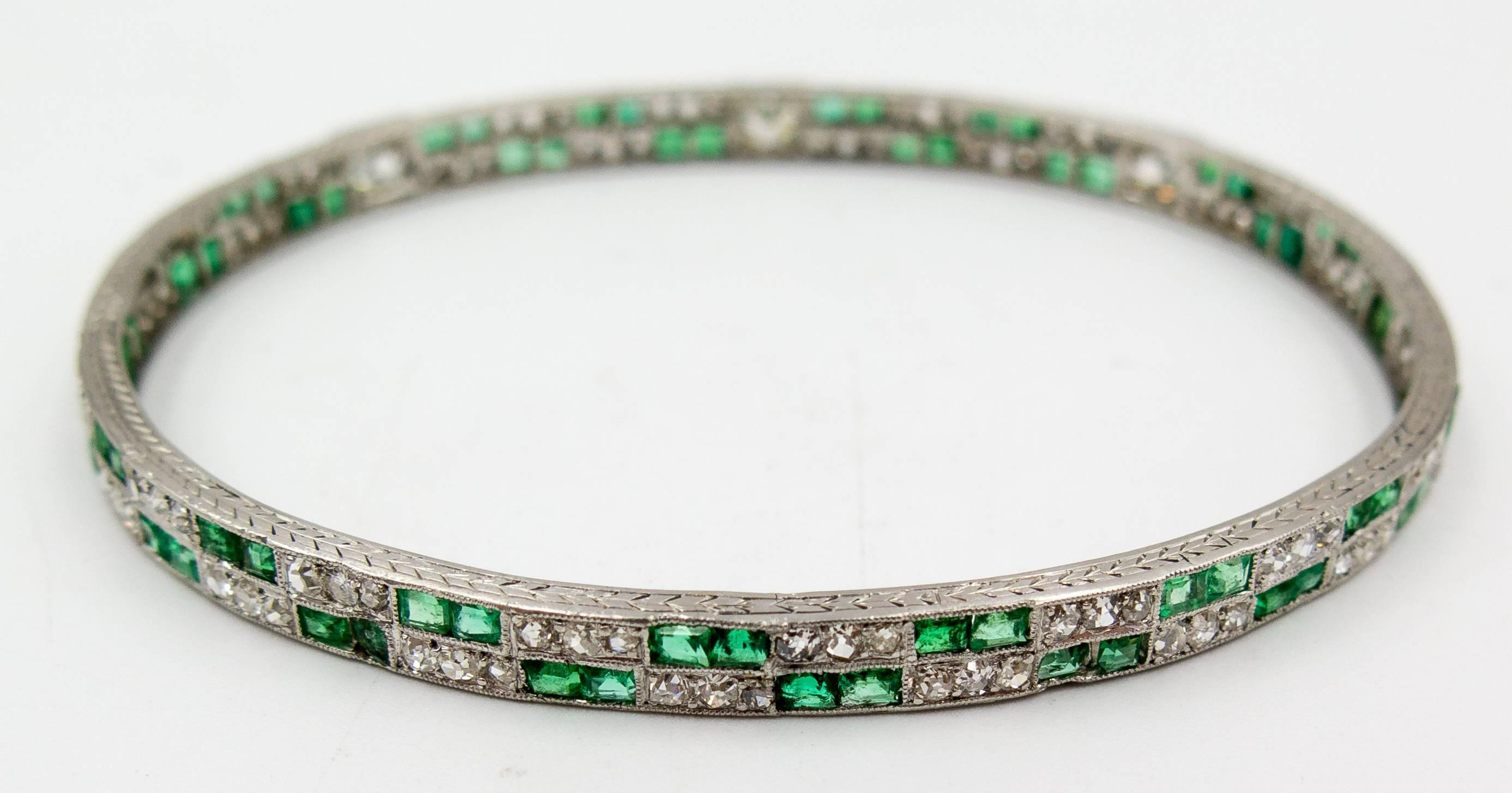 fabrikant emerald andrew tennis img bracelet product sons cut diamond