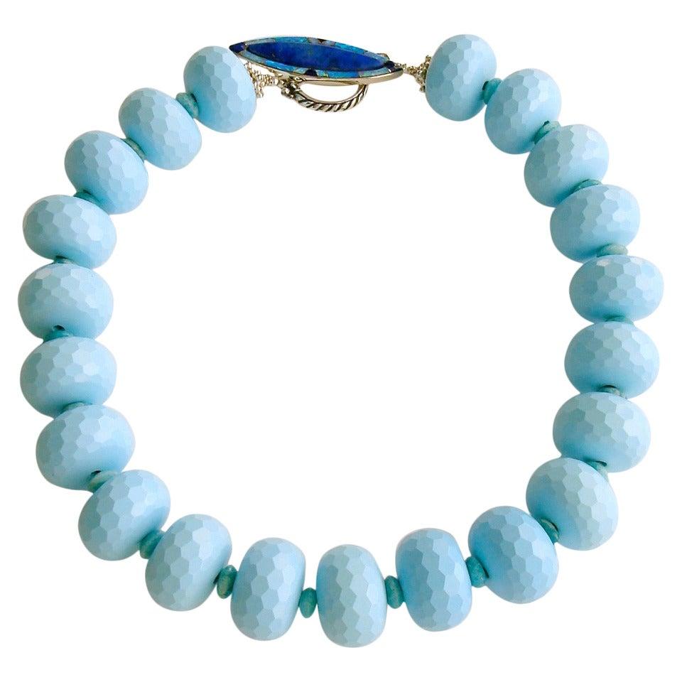 Cybill Turquoise Russian Amazonite Lapis Opal Choker Necklace