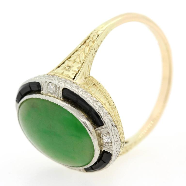 How To Wear Onyx Ring And Jade Ring