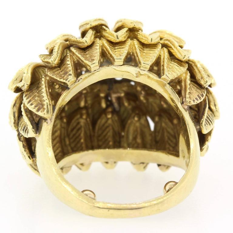 Women's 1960s Diamond Gold Ring For Sale