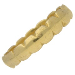 "Georgian Gold Posy Ring ""True Loue is My Desire"" circa 18th Century"