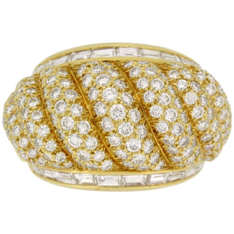 Van Cleef & Arpels Diamond Dress Ring, circa 1950