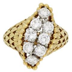 Cartier Paris Diamond Dress Ring
