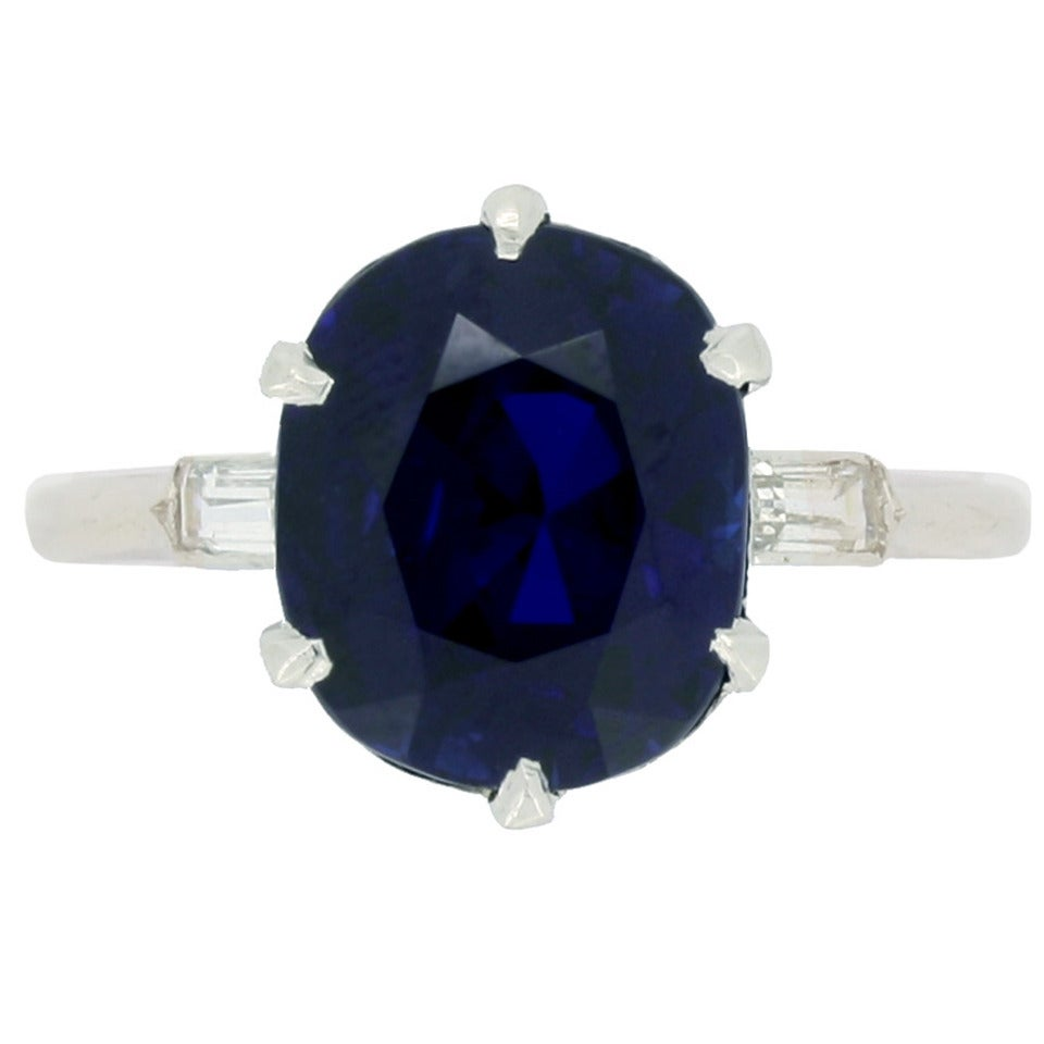 burmese circa diamond detail natural antiques sapphire ring c and art