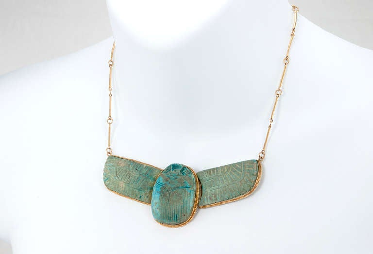 egyptian scarab necklace - photo #29