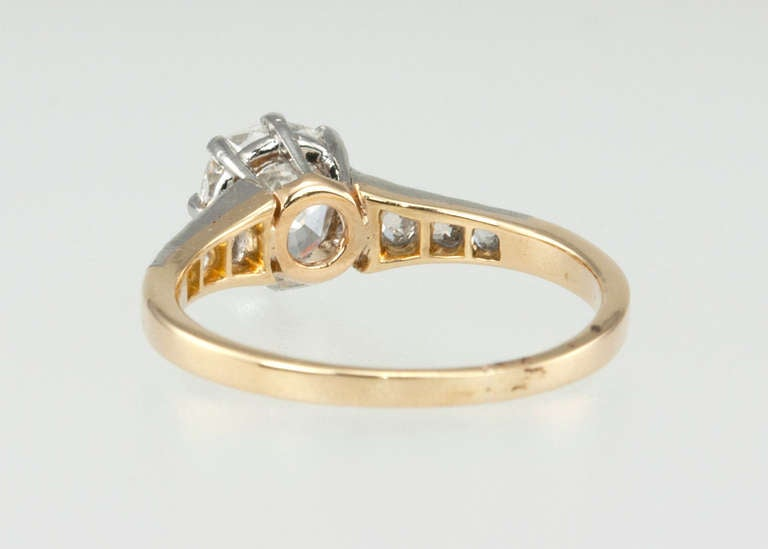 Splendid Victorian 1.25 Carat Engagement Ring For Sale 3
