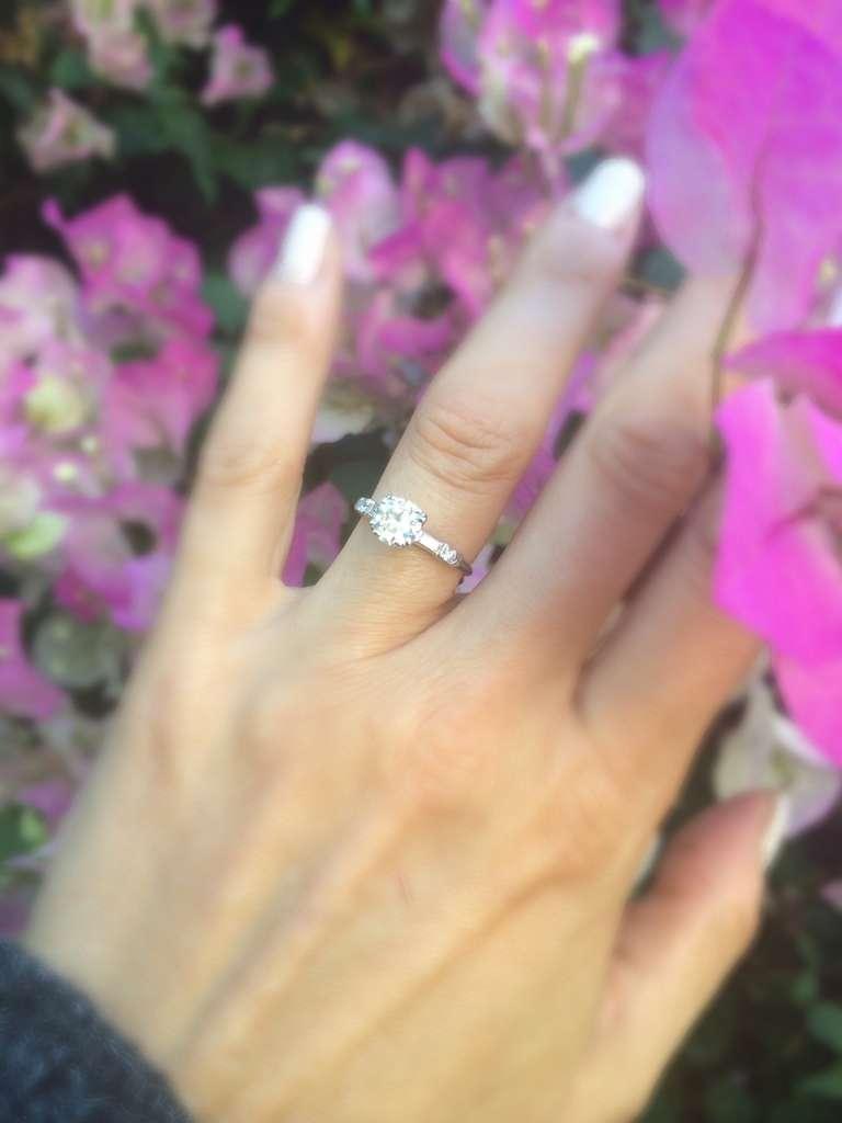 Estate Diamond  Engagement Ring 7