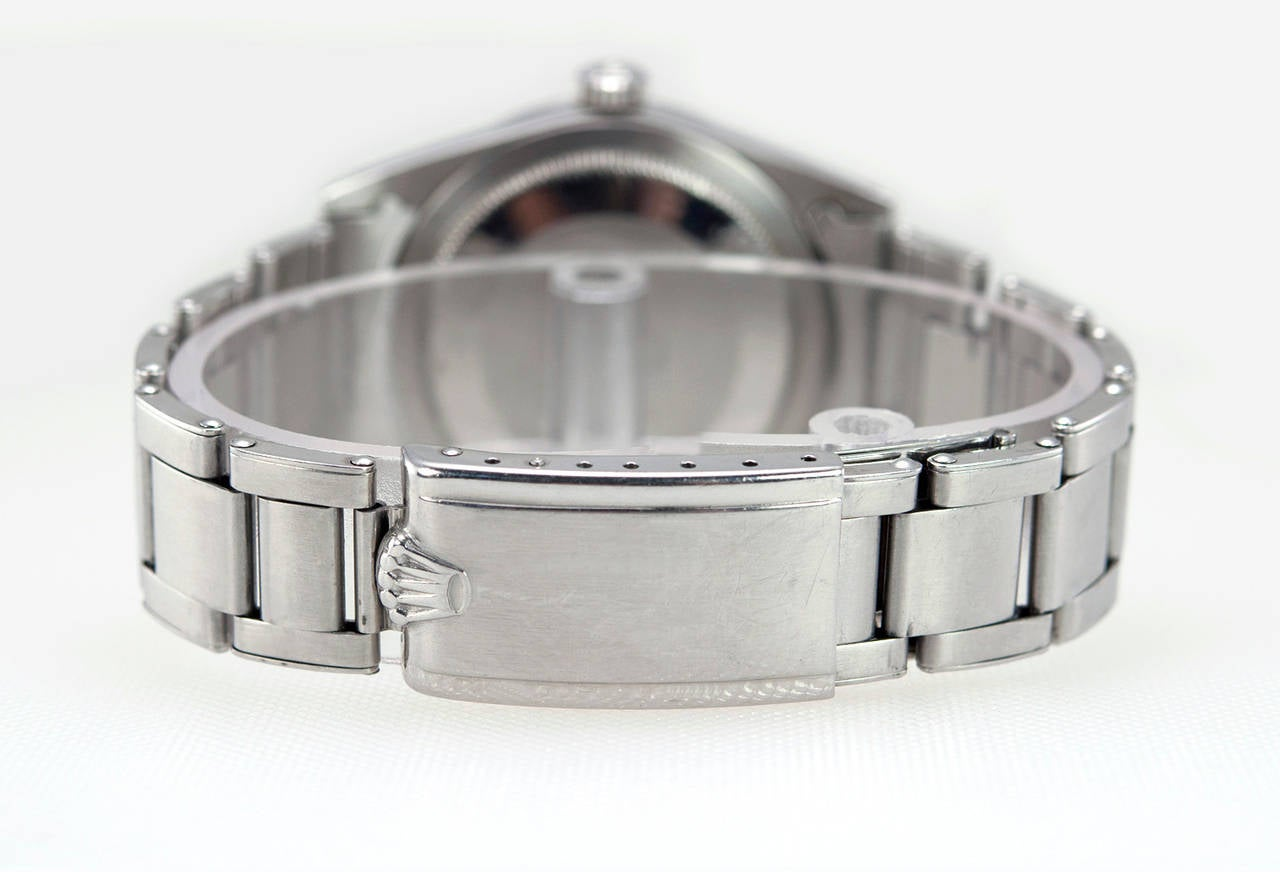 Rolex Stainless Steel Explorer Wristwatch Ref 1016  1966 For Sale 1