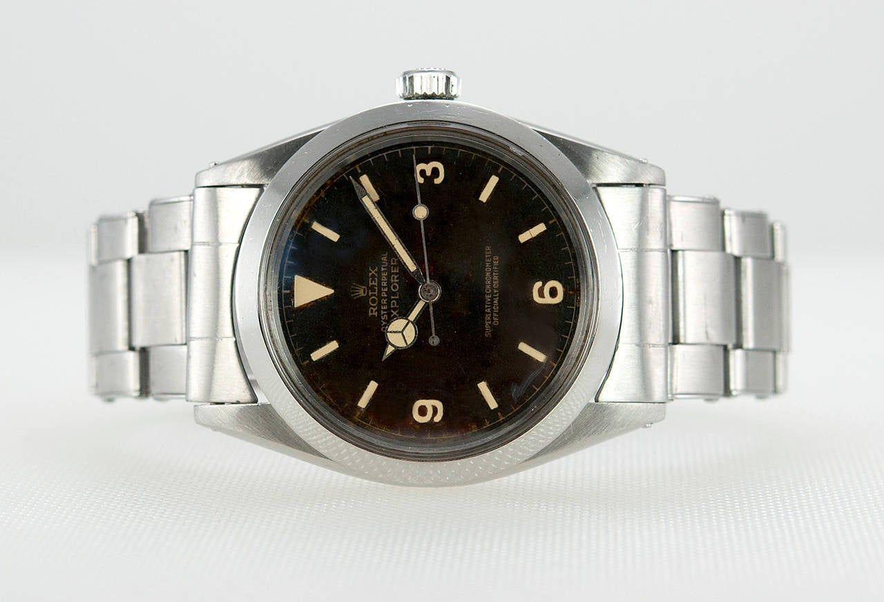 Rolex Stainless Steel Explorer Wristwatch Ref 1016  1966 4