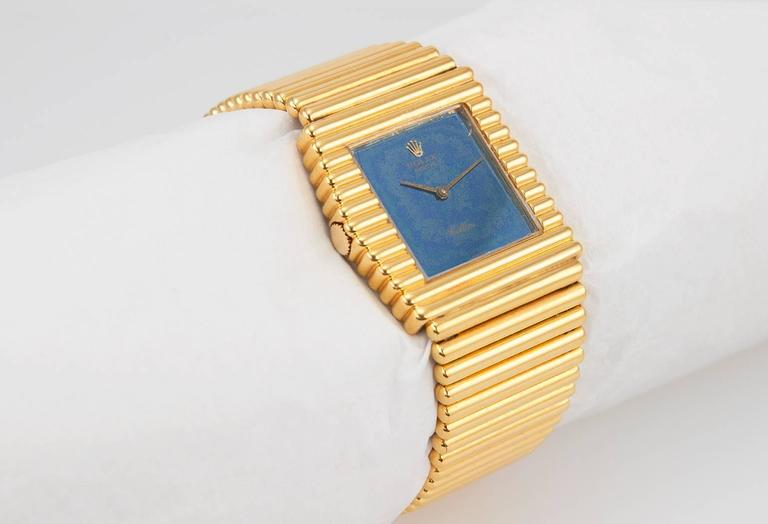 Rolex Yellow Gold Cellini Wristwatch Ref 4015 2