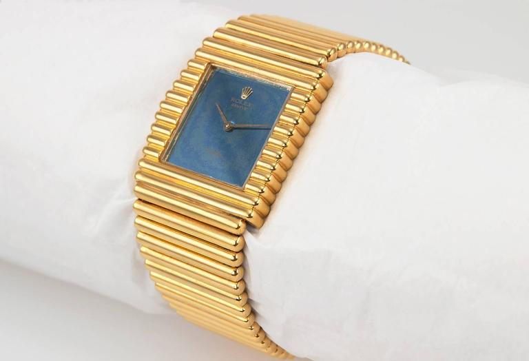 Rolex Yellow Gold Cellini Wristwatch Ref 4015 3